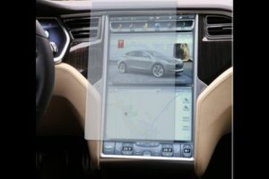 Skjermbeskyttende film for Tesla Model S & X