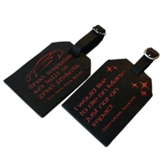 Tesla luggage tag - Main